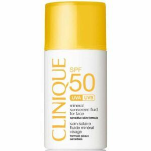 Clinique Sun SPF 50 Mineral Sunscreen Fluid For Face 30 ml
