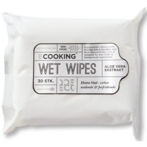 Ecooking Wet Wipes 30 Pieces