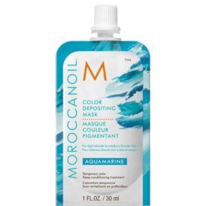 MOROCCANOIL® Color Depositing Mask 30 ml – Aquamarine