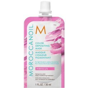 MOROCCANOIL® Color Depositing Mask 30 ml – Hibiscus