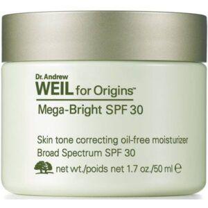 Origins Dr. Weil Mega Bright SPF30 Skin Tone Correcting Oil-Free Moisturizer 50 ml