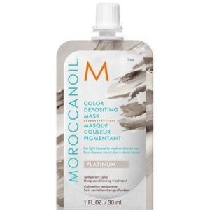 MOROCCANOIL® Color Depositing Mask 30 ml – Platinum