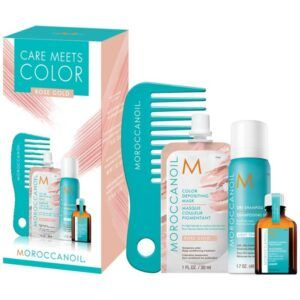 MOROCCANOIL® Care Meets Color Set – Rose Gold (Limited Edition)