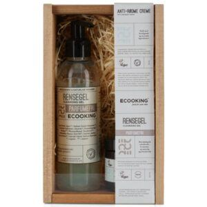 Ecooking Anti-Rødme Creme + Rensegel Christmas Box (Limited Edition)