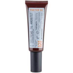 Ecooking Sunscreen Til Ansigtet SPF 50 – 50 ml